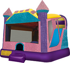 Pink Sparkle Bounce House