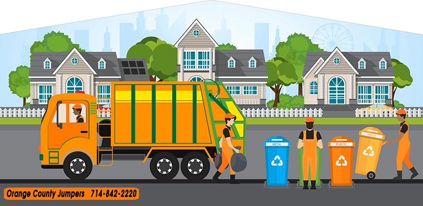 trash truch banner
