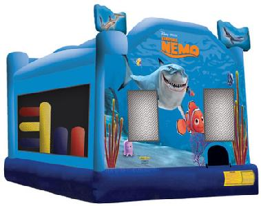 Finding Nemo Licensed Bouncer from Orange County Jumpers.