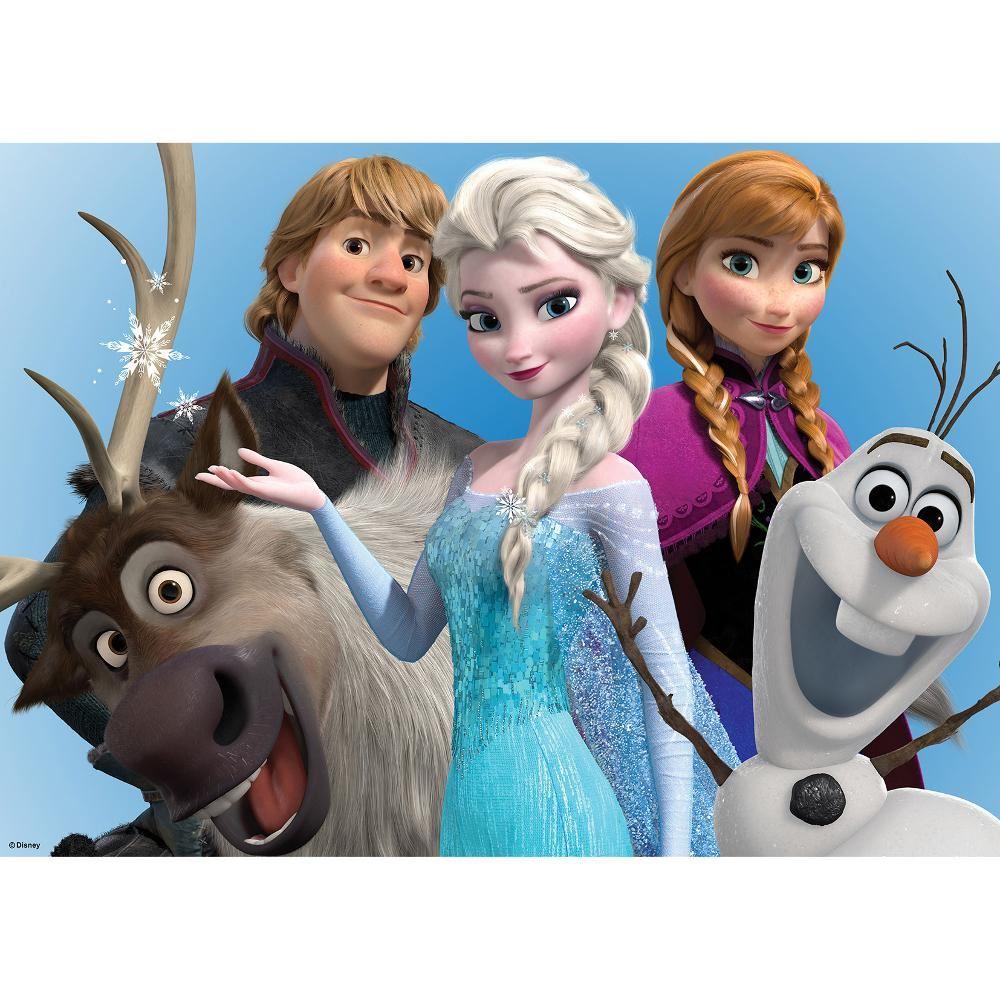 Anna, Elsa, Olaf