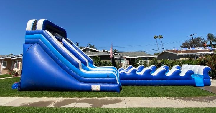Wave Water Slide